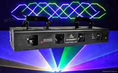 4 lens 4 head GBPY beam laser light for disco dj party