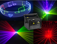 China factory 5W rgb cartoon animation laser light for dj nightclub