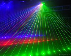 hot sale grating and beam laser light show for dj disco pub