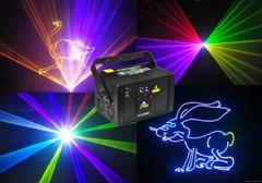 1w 2w rgb cartoon animation laser light for nighclub dj