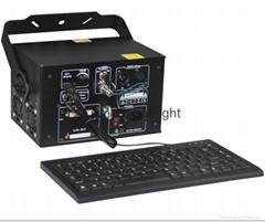 1w rgb keyboard text APP ILDA laser light for party dj disco