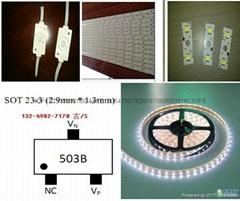 NU503适用于LED低压贴片灯带