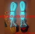 EL Shoelaces Stage Light EL Wire Vibration Sense