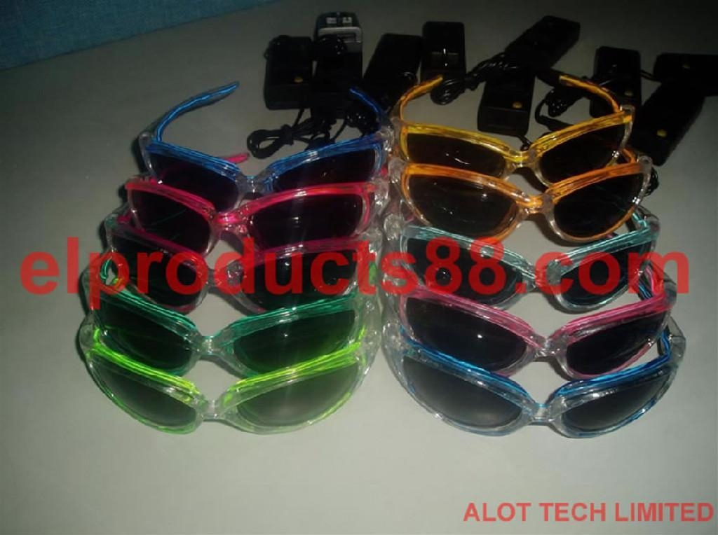 EL Flashing Sunglasses For Party Night Club