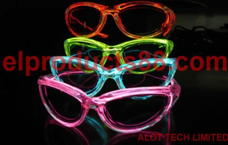 EL flashing Party sunglasses
