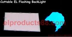Hot Cuttable EL Lighting Backlight EL Flashing Cuttable Backlight