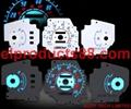 EL Glowing Car Gauge EL Cold Light Auto Dashboard EL Panel