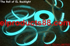 EL Backlight EL Pliable Panel Backlight Cut it at will