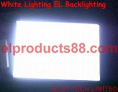 EL白色冷光片背光源 頂級白光EL冷光片 背光片