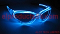 HOT EL Glowing Party Supplies Flashing Sunglasses