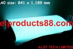 EL背光源冷光片 发光片柔性背光灯