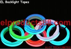 EL冷光片可裁剪背光源卷背光带 冷光发光片