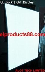 EL冷光片 背光源 冷光灯 EL片发光纸 柔性冷光灯背光