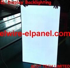 EL冷光片背光源 冷光源背光显示灯 舞台装饰幕墙灯 COS服装饰亮片
