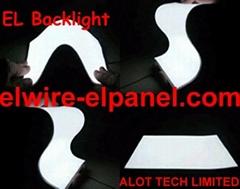 EL冷光片 背光源发光纸 发光片背光灯 舞蹈服舞台道具