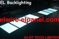 EL Backlight  EL Panel Soft and Cuttable for backlighting