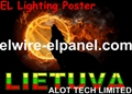 Hot EL Lighting EL Panel AD Lamp
