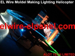 HOT EL Wire Holiday Mold Making EL Flashing Wire