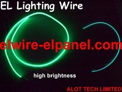 EL冷光源霓虹線 熒光舞演出服發光線 冷光線