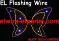 EL Wire Flashing Mould Making EL Lighting Terrestrial Globe