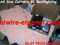 EL Panel Cuttable EL Backlight ELTape 4