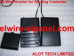 4节7号电池EL发光线15米驱动器 荧光舞表演服道具