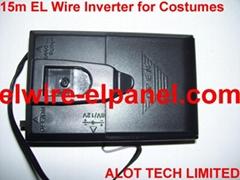 EL冷光线荧光舞表演服专用驱动器 15米4节7号电池