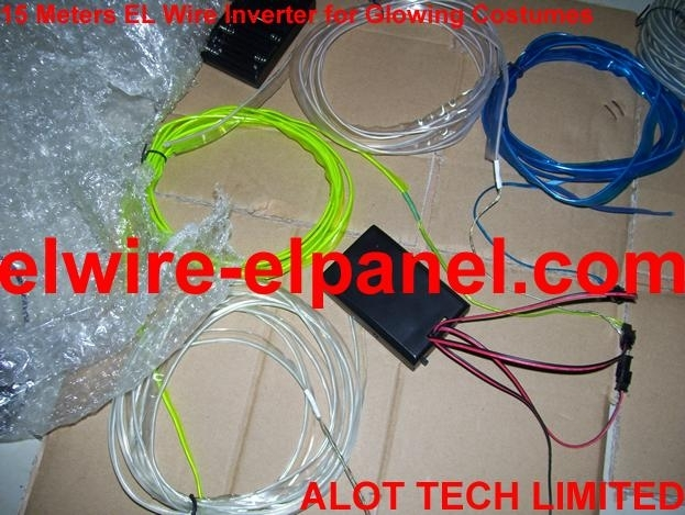 EL Inverter for Costumes with High Quality EL Wire