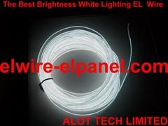 發光線 高亮度純白光 高亮 EL冷光線 汽車裝飾燈