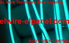 EL Wire Blue Lighting Top Brightness in the world (Hot Product - 1*)