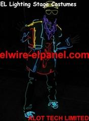 EL冷光线 荧光舞表演服专用发光线