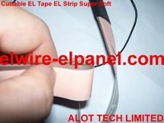 Cuttable EL strip Super