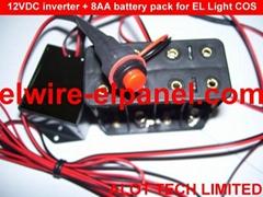 冷光線 冷光片驅動器 熒光舞表演服 最長60米 A4冷光片驅