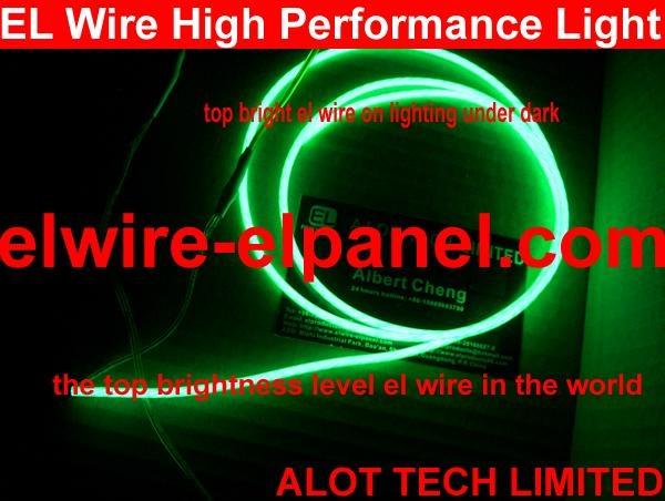EL Wire Flashing Wire Super Bright