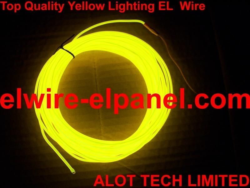 EL Wire Top Yellow Lighting Cosplay Decoration