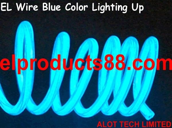 EL Wire Bending Lighting Cable for Toys Decoration