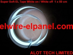 EL冷光片發光條 熒光舞演出服燈飾 汽車裝飾超薄燈條