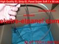 EL冷光片发光条 荧光舞演出服灯饰 汽车装饰超薄灯条 3