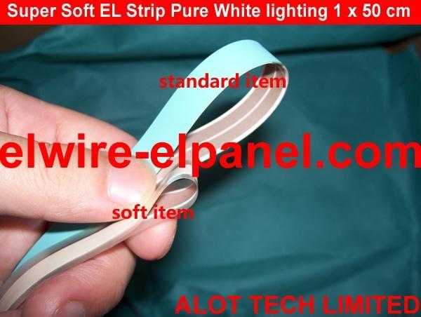 EL冷光片发光条 荧光舞演出服灯饰 汽车装饰超薄灯条 4