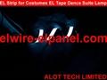 EL冷光片发光条 荧光舞演出服灯饰 汽车装饰超薄灯条 2