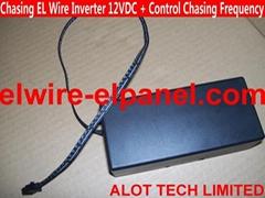 EL追光線流水燈驅動器 12VDC任意調節流水追光速度 冷光線驅動