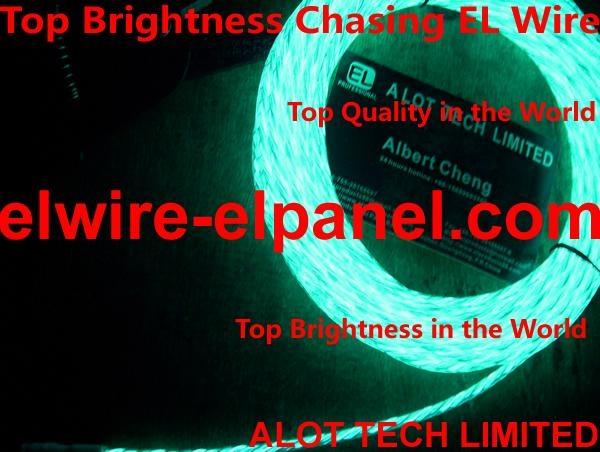 流水灯追光线 流动的EL冷光线 发光线追光灯条 3
