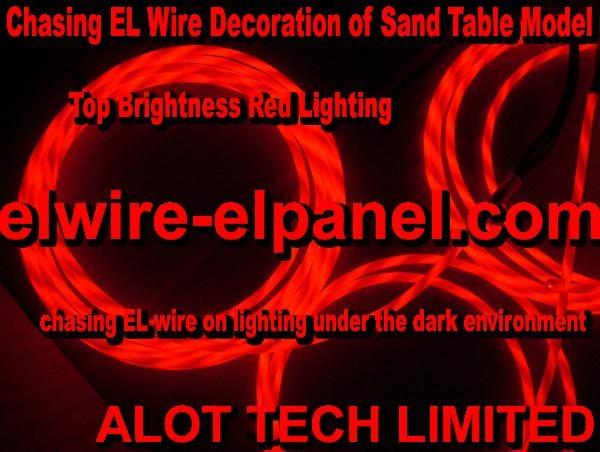 闪耀高亮度EL冷光线追光灯条 汽车装饰灯 模型灯饰条 1