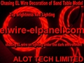 Top Brightness EL Wire Chasing Lighting Moving EL Wire