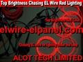 Top Brightness EL Wire Chasing Lighting Moving EL Wire