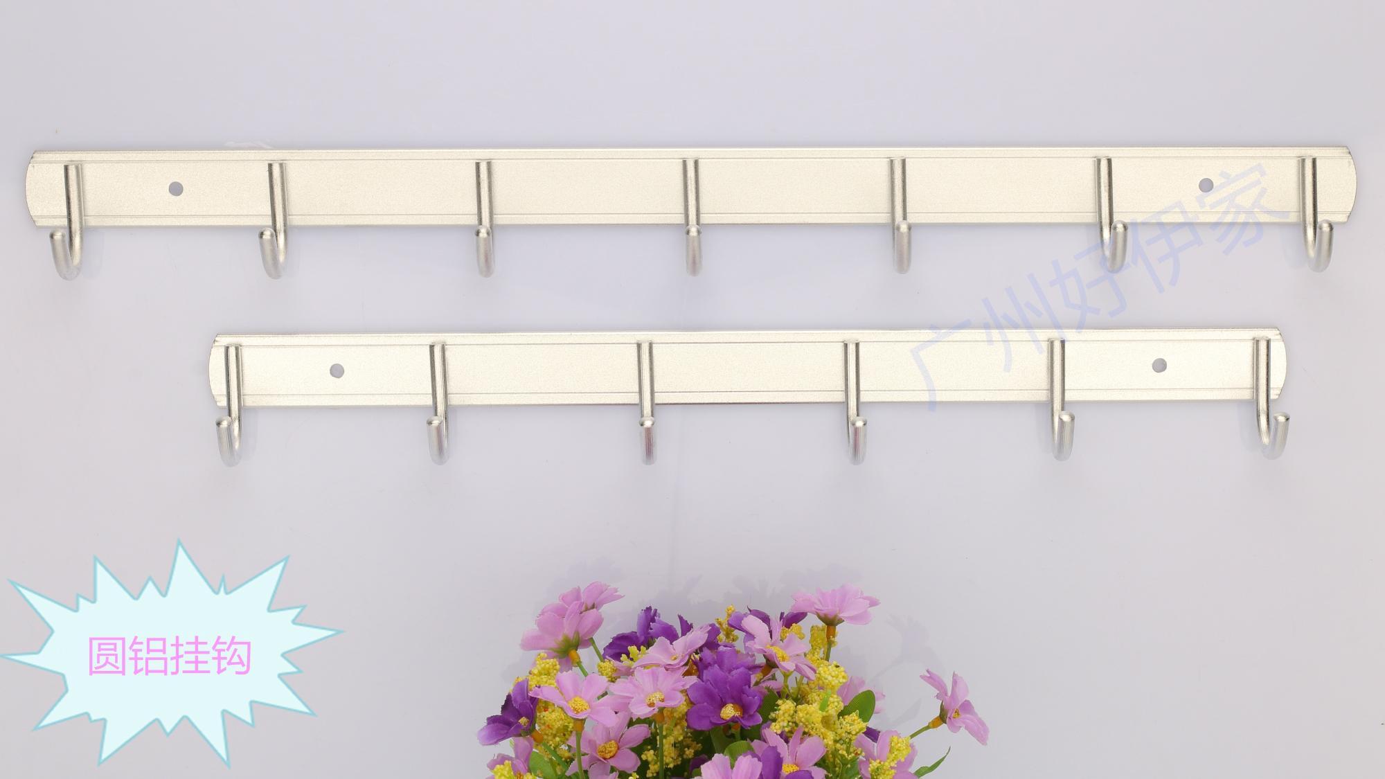 Factory direct space aluminum wall coat hook hook hook hook / practical towel 2