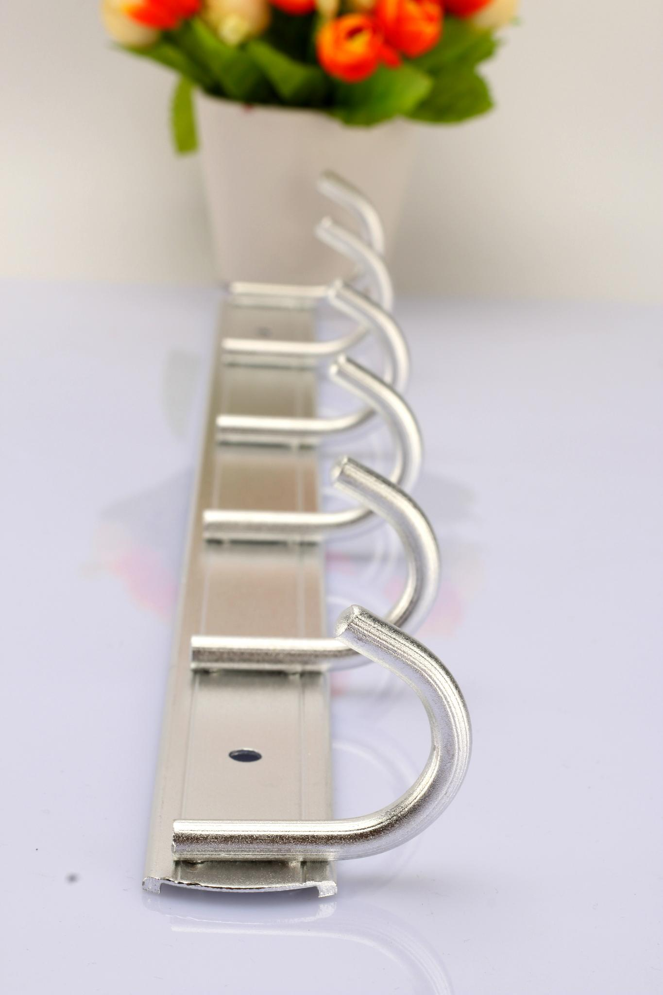 Factory direct space aluminum wall coat hook hook hook hook / practical towel 3