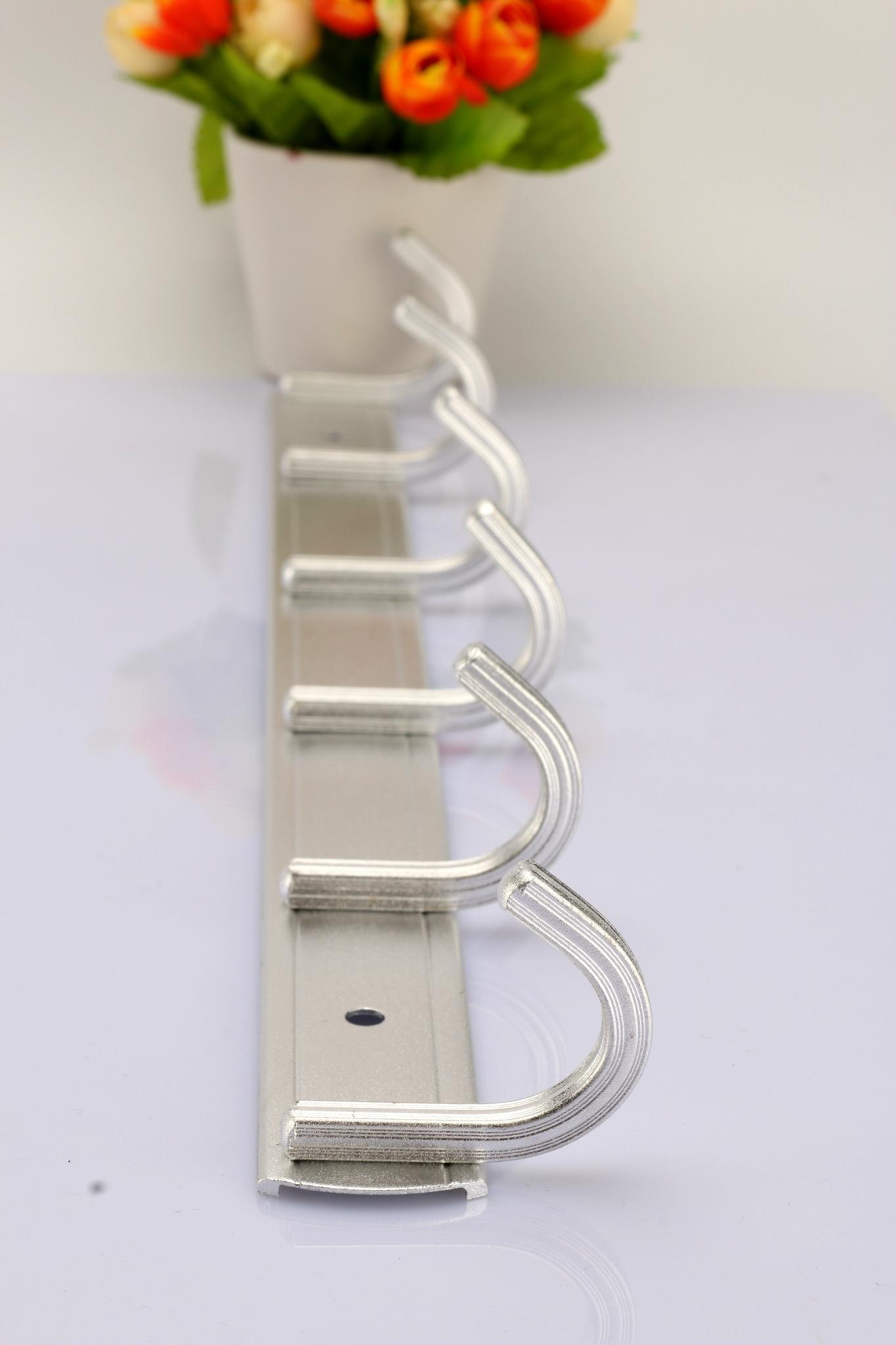 Factory direct space aluminum wall coat hook hook hook hook / practical towel 4