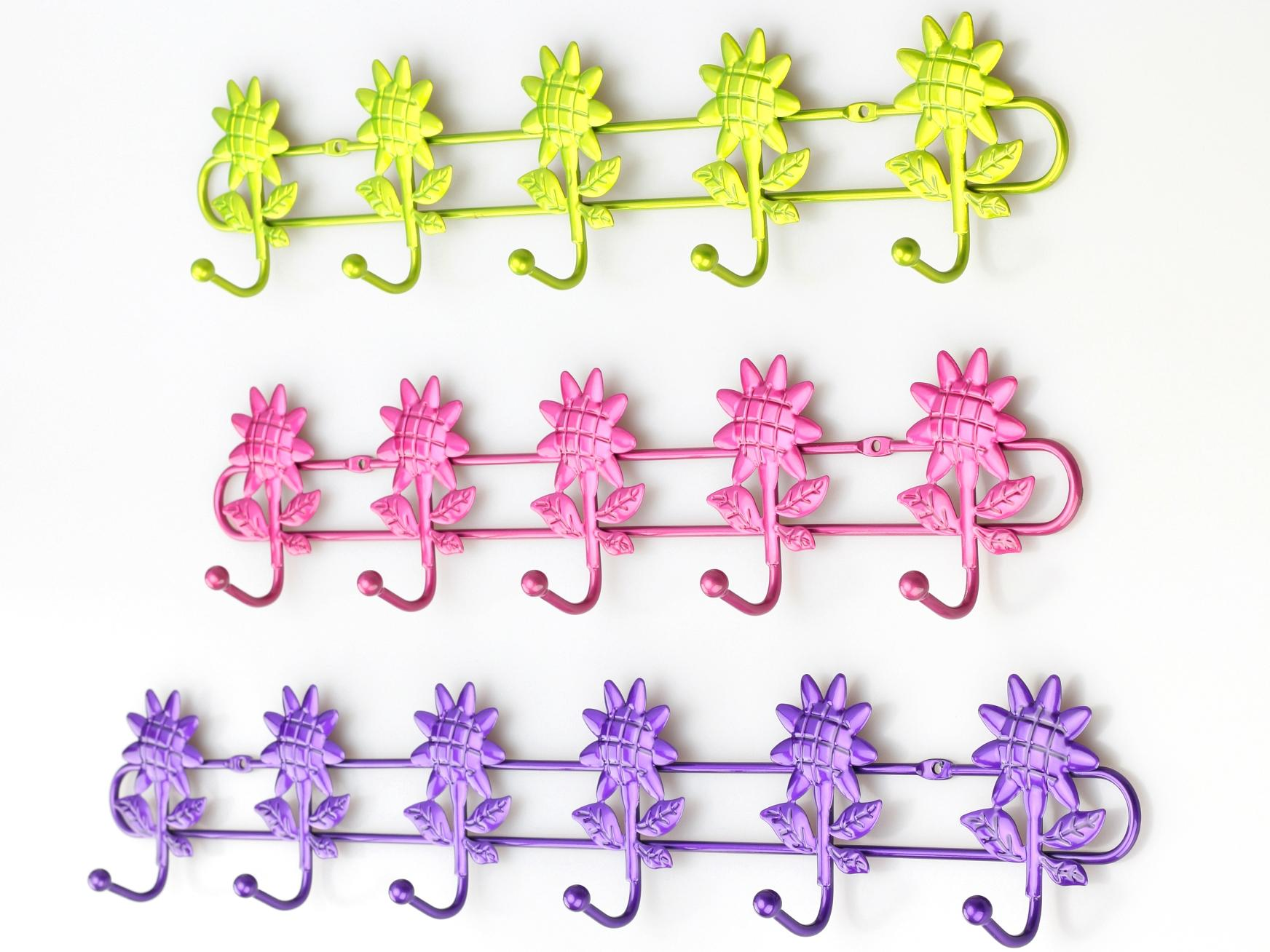 Multipurpose hollow pattern nail free seamless door hanger hook nano pattern  4