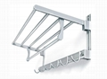 Space aluminum bathroom hardware, hardware hanger, bathroom towel rack 4